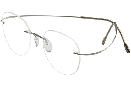 Silhouette Eyeglasses TMA Must Collection Chassis 7799 6061 Optical Frame - Silhouette Clip On Glasses
