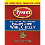 Tyson Premium Chunk White Chicken in Water (Case of 6)