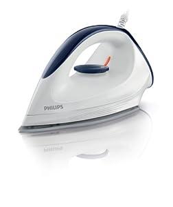 Philips GC160/02 Trocken-Bügeleisen mit DynaGlide-Bügelsohle, 1200 Watt,...