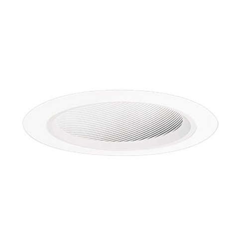 "Halo Recessed Lighting Trim, 6"" Drop Opal Reflector Shower T"