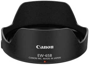 EW-65 II Camera Lens Hood Black ABS Plastic Material Easy Installation Mount Lens Hood Replacement for EF 28mm f2.8 EF 35mm f2 Lens