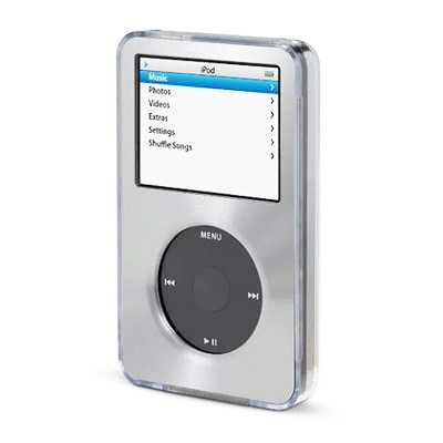 Silver For Apple iPod Classic Hard Case with Aluminum Platin
