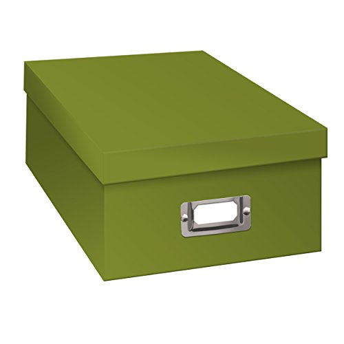 Pioneer Photo Storage Boxes, Holds Over 1,100 Photos Up To 4-6 Inches Photo Album-Sage Green (Picture Box)