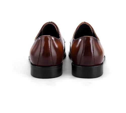 Sneakers Boda Hombres Negocios Trabajo Inglaterra Pointy Marrón Para Caballero Zapatos De Derby Brown Negro Adulto 5wZq4zBxZ