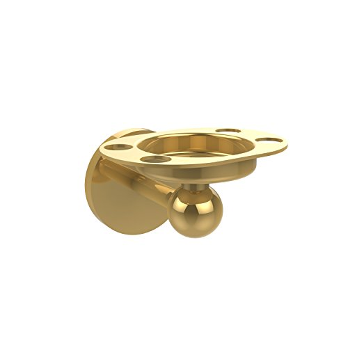 Buy toothbrush polished brass accents