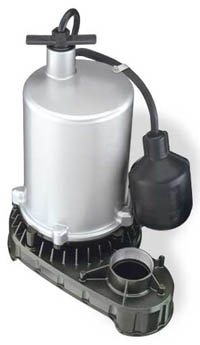 Effluent/Sewage Pump,1/2hp