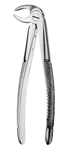 Hu-Friedy FX46L #46L European Style Root Forceps, Serrated by HU FRIEDY