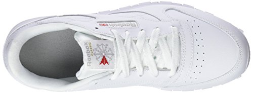 Classic white Blanc Basses Baskets Reebok Leather Enfant Mixte pxnwBxd4qP