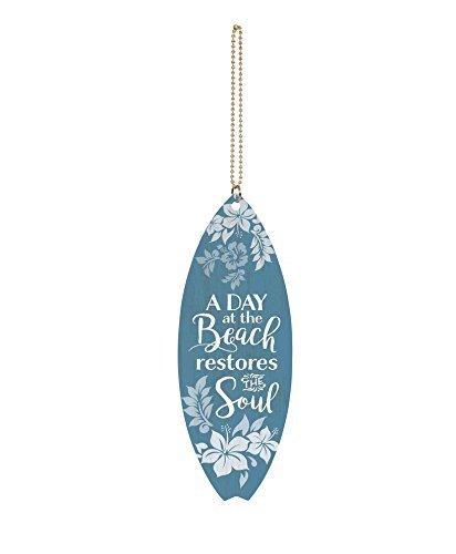 CELYCASY - Tabla de Surf con diseño Floral de la Playa Restaura Soul (1,
