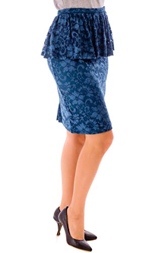 Azulado Cvb Falda Verde Para Mujer YIrgdxrw1q