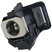 Z&T LCD Projector Replacement Bulb Lamp Module for EPSON EX2200 H376A H376B Projection