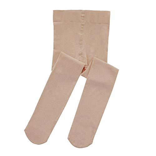 STELLE Girls Ballet Dance Students School Footed Tight (Toddler/Little Kid/Big Kid/Women) (Skin, M)