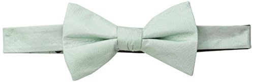 Ben Sherman Men's Belem Solid Bow Tie, Green, One Size