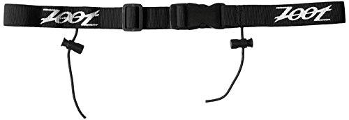 (Zoot Sports Men's Race-Day Belt ,Black,1 Size)