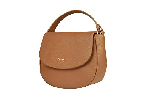 Elegance Cognac Handbag for Handle Plume Shoulder Bag Lipault Top Women Chain Saddle Strap qW7c5W61zv