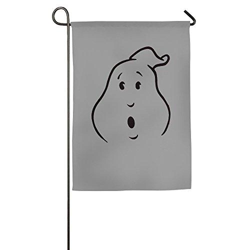 DEJML Custome White Ghost House Home Flag 1218inch