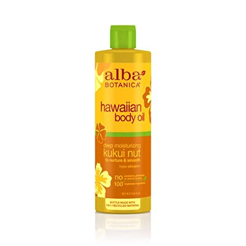 Alba Botanica Huile de massage - Enrichie en noix de Kukui - 250 ml