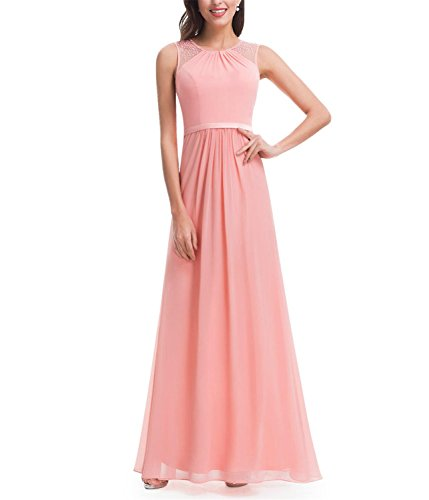 Tayla Shaw Long Prom Dress Lace Plus Size New Arrival NEW Peach 14
