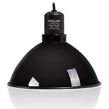 Amazon Com Repti Zoo 8 5 Inch Reptile Lamp Fixture Optical Reflection Cover For
