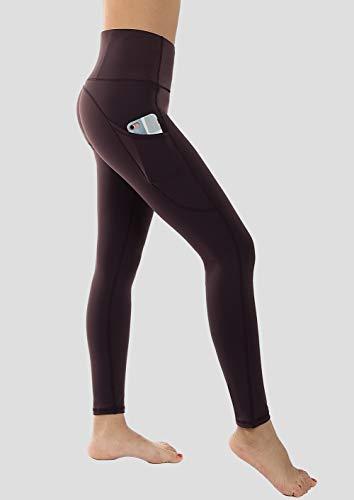 8fc988ff657658 Dragon Fit High Waist Yoga Leggings with 3 Pockets,Tummy Control Workout  Running 4 Way