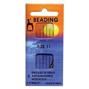 Pony Beading Needles -Size 11 ()