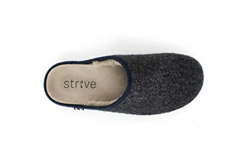 Slipper Strive Copenhagen Dark Grey Orthotic Footwear twH7xwqR