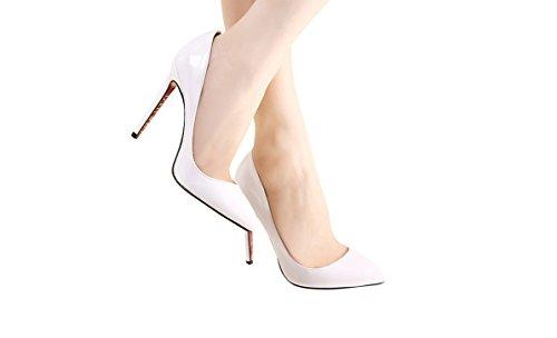 NIUERTEWife - Zapatilla Baja Mujer, Color Blanco, Talla 43 EU