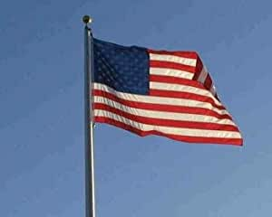 10x15' Nylon American Flag - All Weather