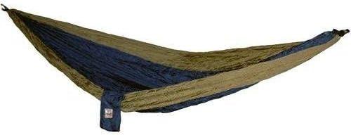 Hammaka Parachute Silk Lightweight Portable Double Hammock In Blue / Brown Review