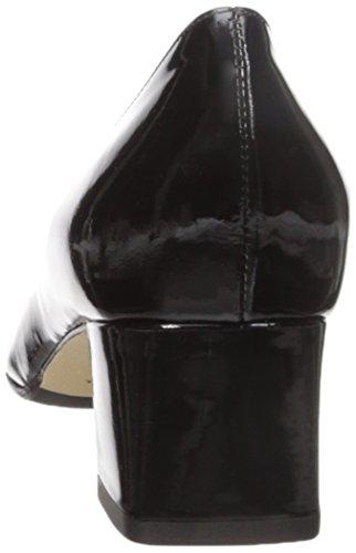 Aquatalia Kvinners Pheobe Patent Kjole Pumpe Svart