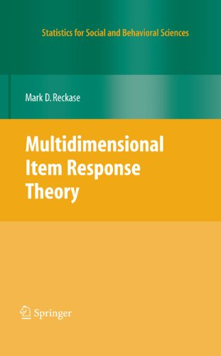 Download Multidimensional Item Response Theory (Statistics for Social and Behavioral Sciences) Pdf