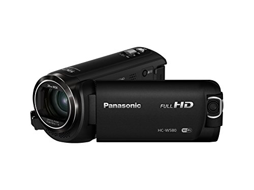 Panasonic HC-W580 Camcorder (2.51 MP, 50 x Zoom, FHD, Wi-Fi, 3 inch LCD) -...
