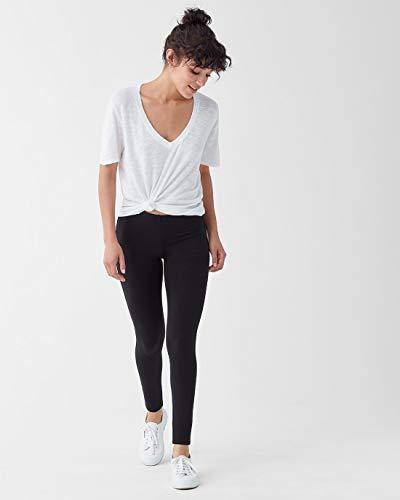 (Splendid Women's French Terry Legging Pants (Black,)