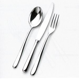 (Alessi Caccia Dessert Spoon)