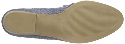 Caprice 24203 Damen Slipper Blau (BLUE NAP.SNAKE 822)