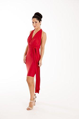 Lucy Et Loo Enveloppe Rouge Infini Convertible Amincissent Cocktail Robe De Soirée