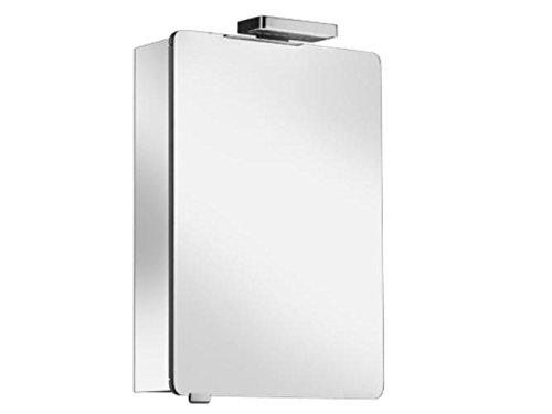Keuco Spiegelschrank Elegance 21601,Anschl. re,sil-elox,500x760x169mm, 21601171101