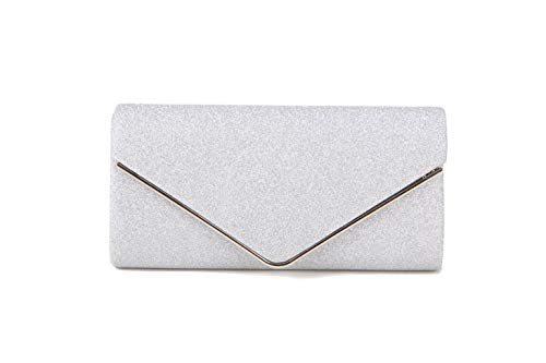 Envelope Bags Body Evening Party Purses Shoulder Nodykka For Sliver Cross Clutch Women Handbags w0vF4X