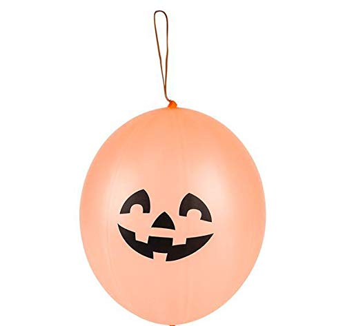 DollarItemDirect 4'' Jack-O-Lantern Punch Ball, Case of 720 by DollarItemDirect (Image #1)
