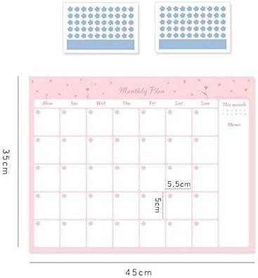Tischkalender Kalendarien 1 PC-heißen Verkauf 100 Tage Countdown-Kalender-Rosa-Blau Learning Terminplaner Tabelle Geschenk for Kinder Studienplanung Supplies (Color : 6)