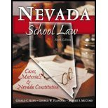 Nevada School Law : Cases, Materials, and Nevada Constitution, Kops, Gerald C. and Flanders, George W., 0757500749