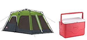 Coleman Instant Tent, Multi Color, 20026677 And Cooler 26.4l 703g