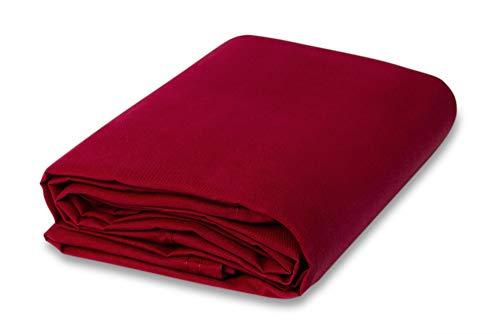 (5 Yard Bolt Red Crush Panne Velour Fabric )