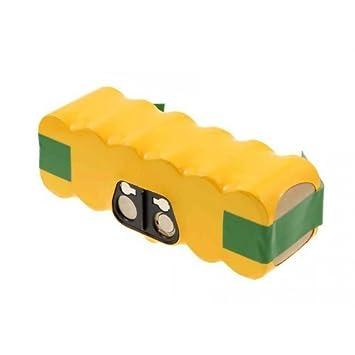 Batería para Aspirador iRobot Roomba 770 4500mAh, 14,4V, NiMH: Amazon.es: Electrónica