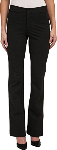 NYDJ Women's Michelle Ponte Trouser Charcoal Pants 12 X 33 by NYDJ