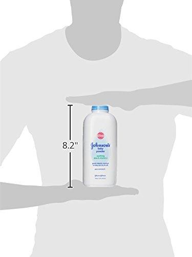 Johnson's Baby Powder With Aloe Vera & Vitamin E, Diaper Rash Protection, 22 Oz. (Pack of 6) by Johnson's Baby (Image #10)