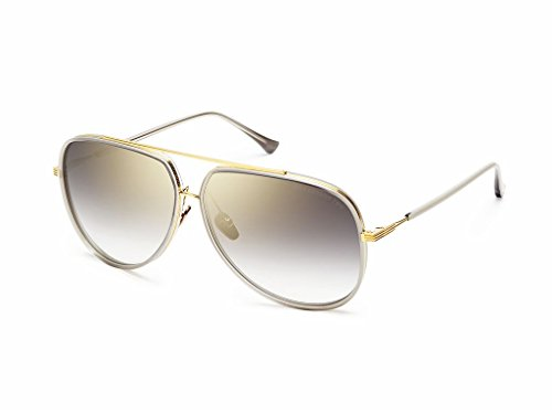 Dita Condor Two 21010-B-GRY-GLD-62 - Mens Sunglasses Dita