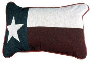 ate Flag Tapestry Throw Pillow, Multicolor ()