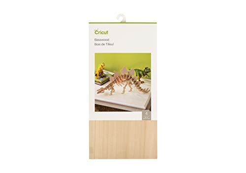 Cricut 2006255 6X12(4) Basswood Natural