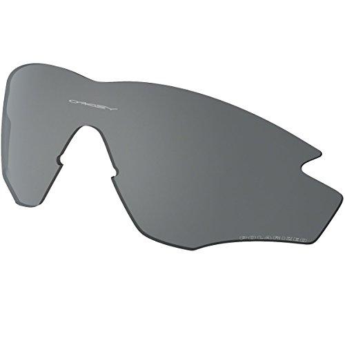 Oakley M2 Frame Polarized Replacement Lens Sunglass Accessories - Black Iridium Polarized/One Size